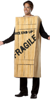 Fragile Crate Costume