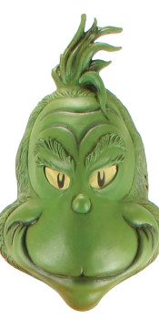 Latex Grinch Mask