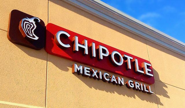 Image of Chipotle restaurant logo.