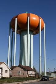Circleville Pumpkin Show Water Tower