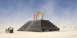 Image of Temple at Burning Man