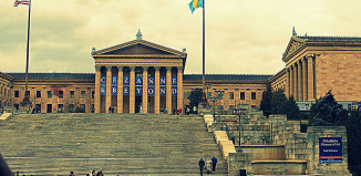 Image of Rocky steps at the Philadelphia Museum of Art