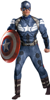 Adult Captain America 2 Costume