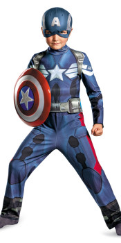 Captain America 2 Kids Costume