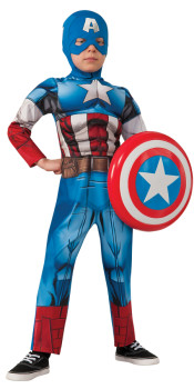 Captain America 2 Muscle Costume