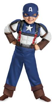 Retro Toddler Steve Rogers Costume