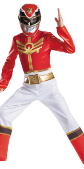 Deluxe Megaforce Red Costume