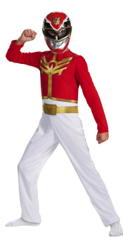 Megaforce Red Costume