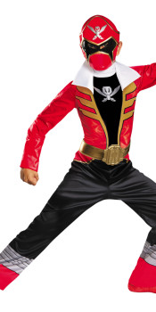 Classic Super Megaforce Red Ranger Kids Costume