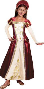Kids Royal Maiden Costume