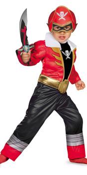 Super Megaforce Red Toddler Costume
