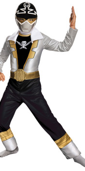 Super Megaforce Silver Kids Costume