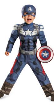 Toddler Captain America 2 Costume