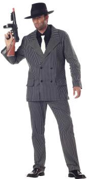 Pinstripe Gangster Costume