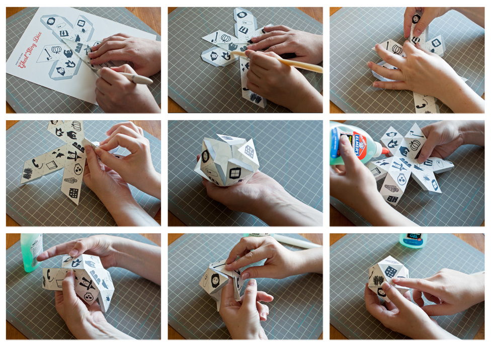 Ghost Story Dice - Assemble