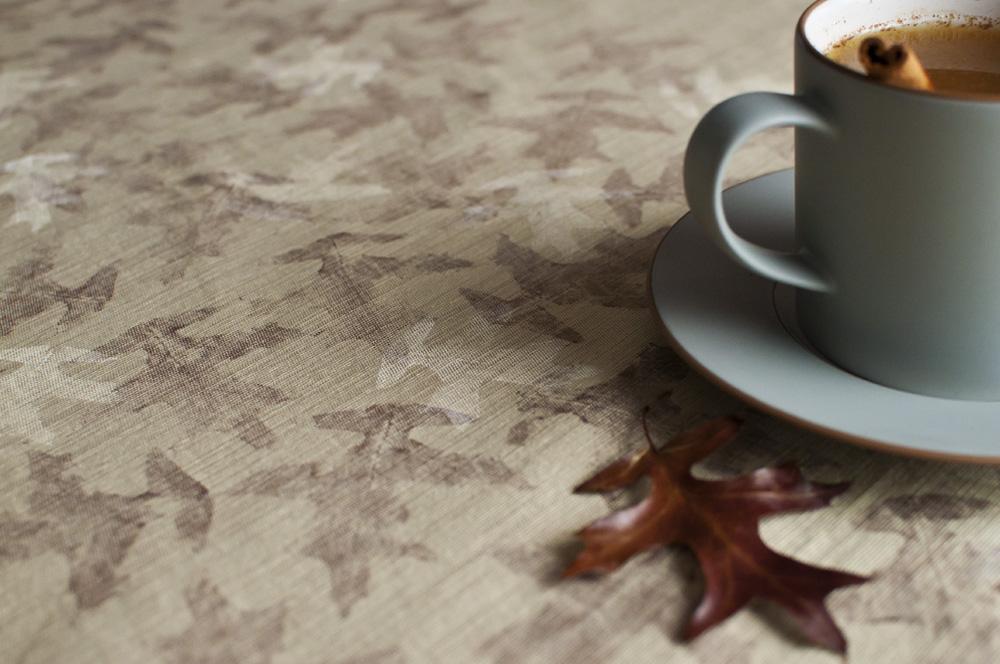 Leaf Printed Linens