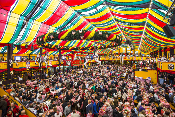 & Guide to Oktoberfest Beer Tents at the Wiesn in Munich - Funtober