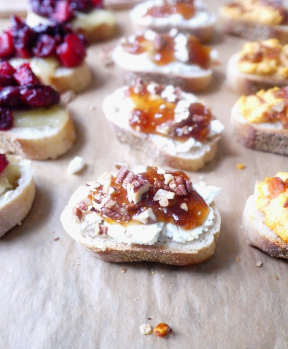 Three Fall Crostinis