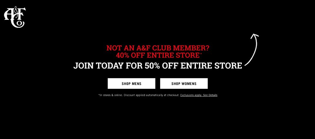 20fcb8881 Abercrombie and Fitch Black Friday 2019 Ads - Funtober