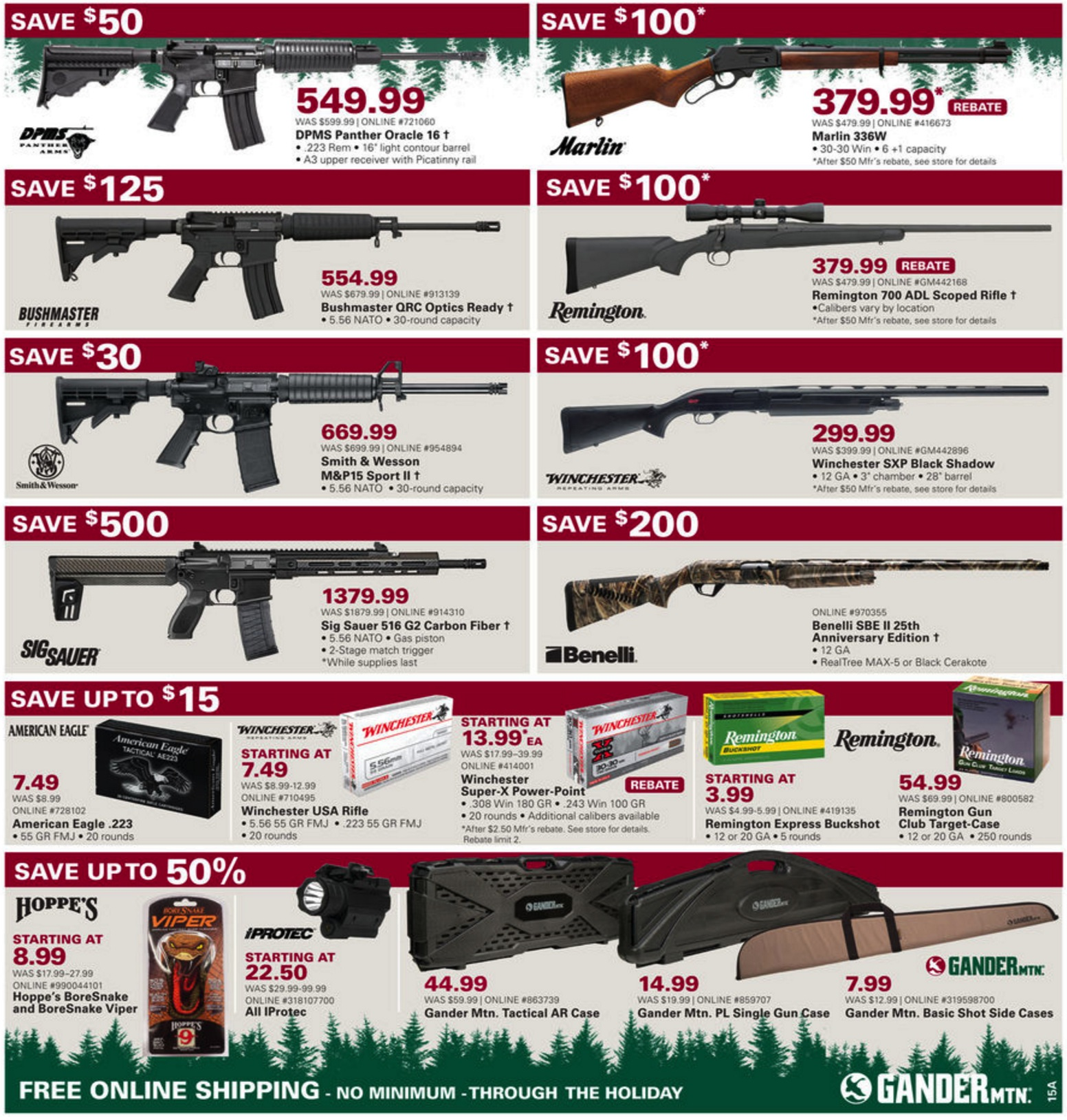 Gander Outdoors has released their Black Friday ad! You'll be able to find an assortment of outdoor sporting goods such as fishing and camping gear, firearms, apparel, and so much more. In this ad, you'll find some of the biggest savings on recreation merchandise and services.4/5(7).
