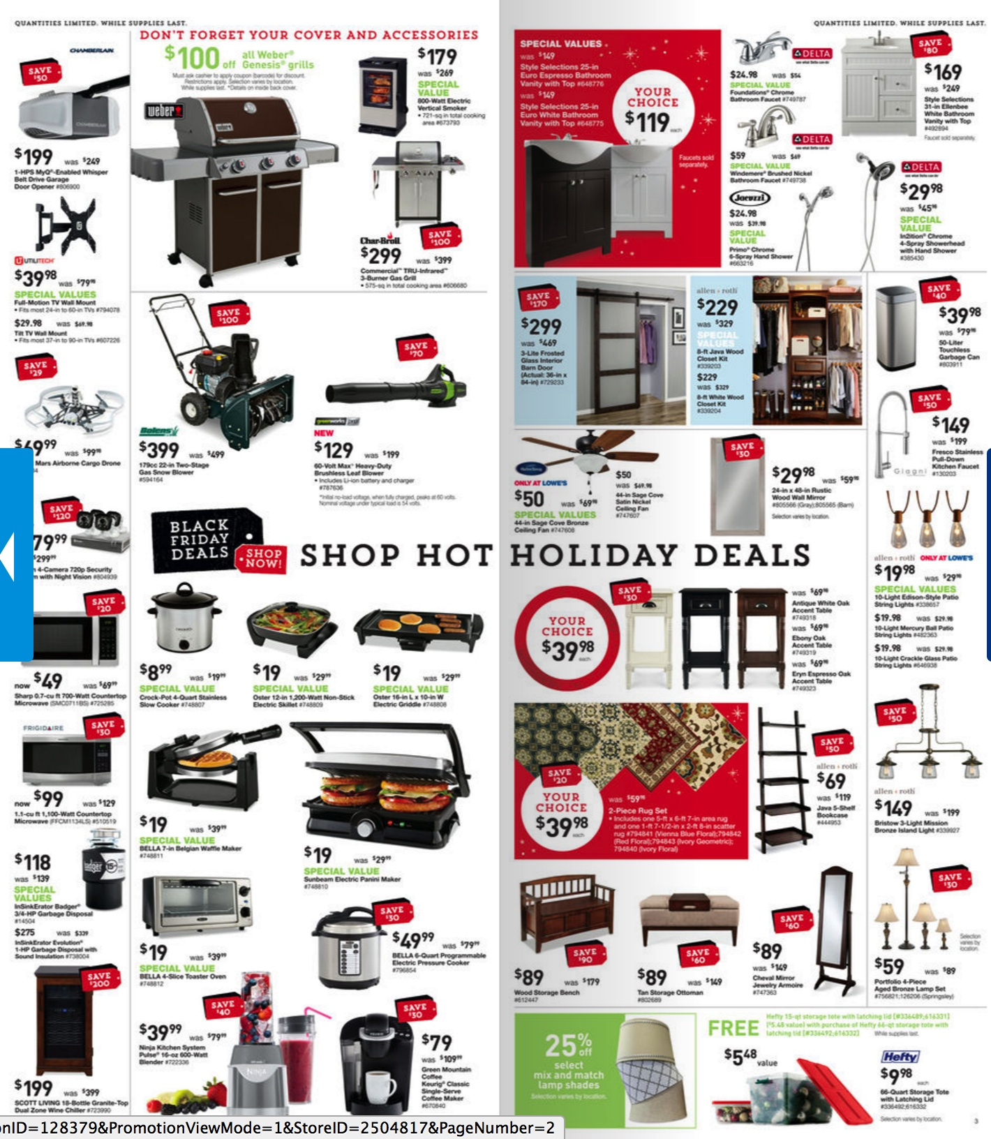 lowe s black friday ad deals 2017 funtober. Black Bedroom Furniture Sets. Home Design Ideas