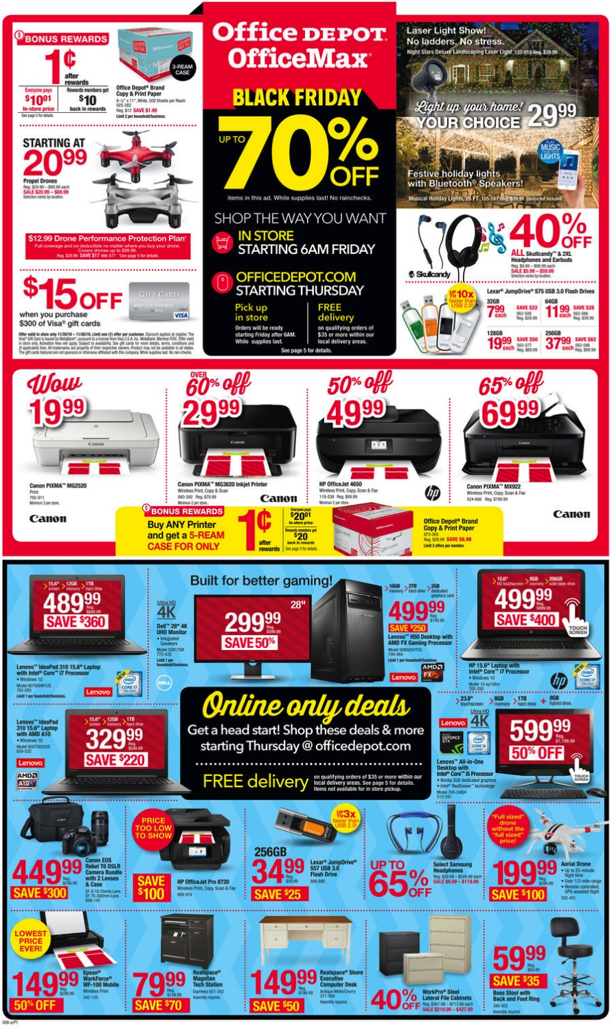 Office Depot And Officemax On Black Friday 2017 Funtober
