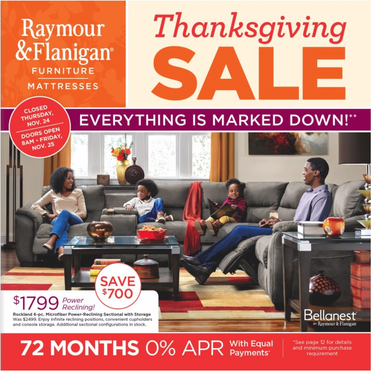 Black Friday Couch Deals: Raymour And Flanigan Black Friday 2019 Ad For Furniture