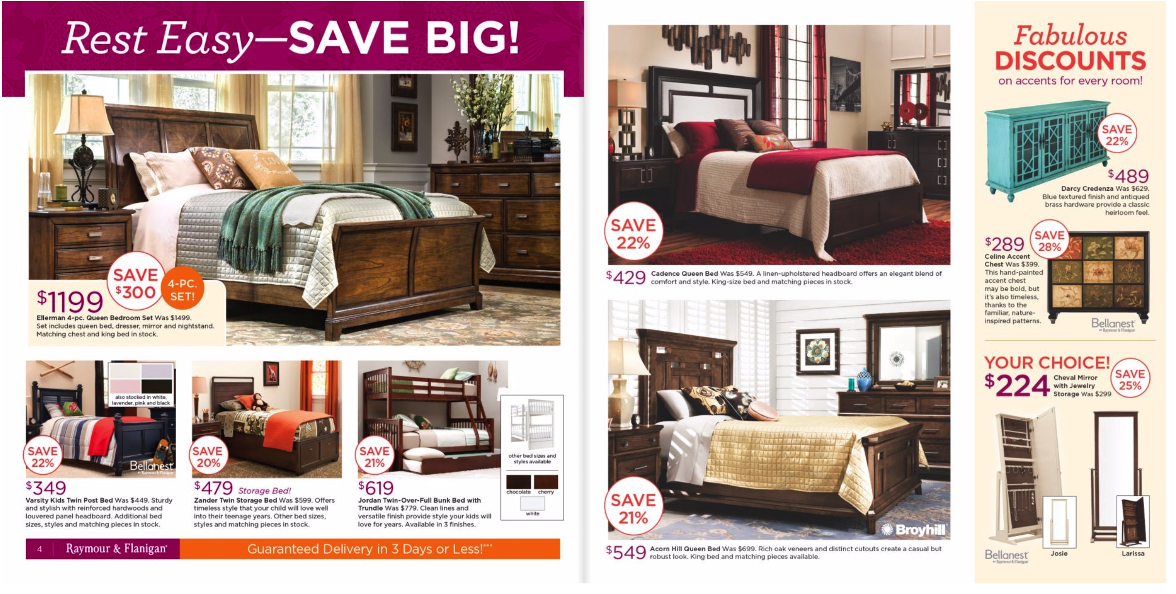 raymour and flanigan black friday 2019 ad for furniture deals funtober. Black Bedroom Furniture Sets. Home Design Ideas