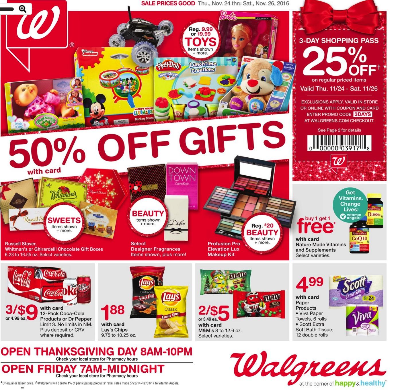 Walgreens Cyber Monday 2018 & Black Friday Deals - Funtober