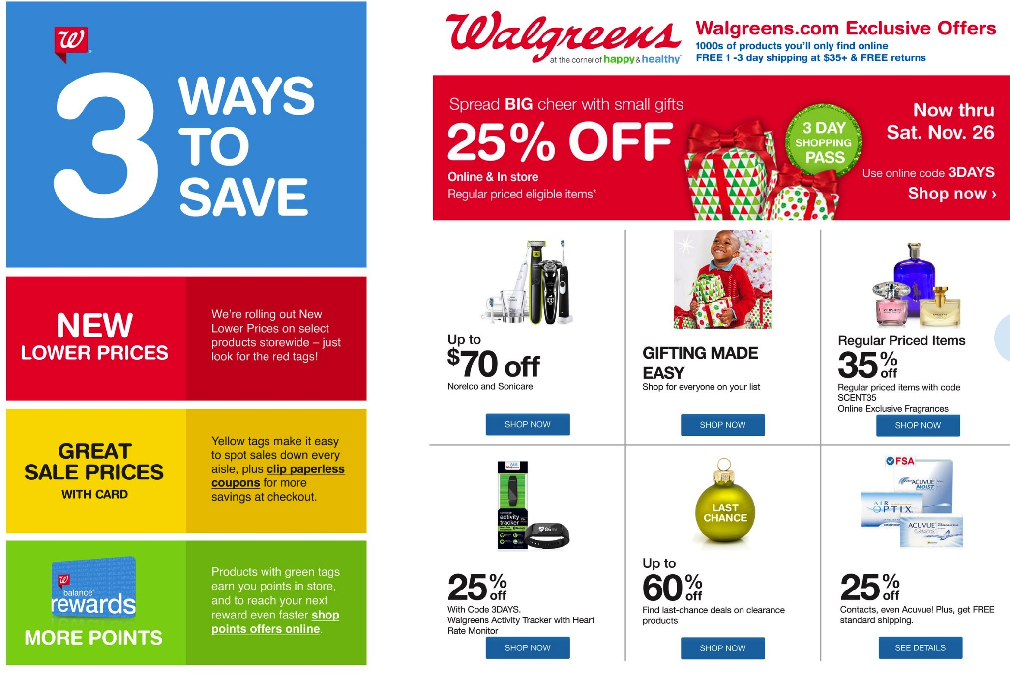 Walgreens Cyber Monday 2018 & Black Friday Deals - Funtober