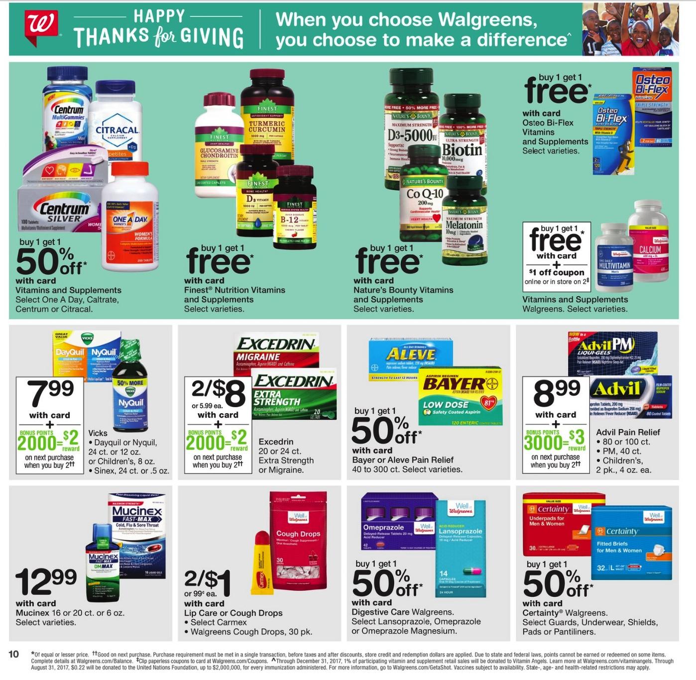 Walgreens Black Friday 2018 Ad - Funtober