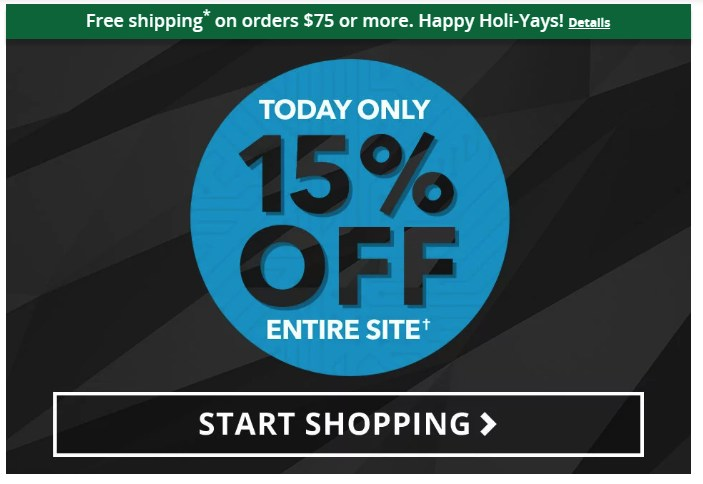 5ca5e048b On the Monday after Thanksgiving, Big Lots offered 15% off all online items  and free shipping on purchases of $75 and over.