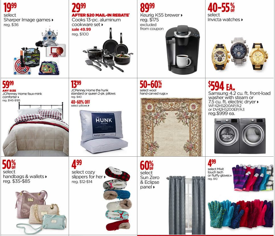 Sams Club Sunday Hours >> JCPenney Black Friday 2019 Ad & Cyber Monday Deals - Funtober
