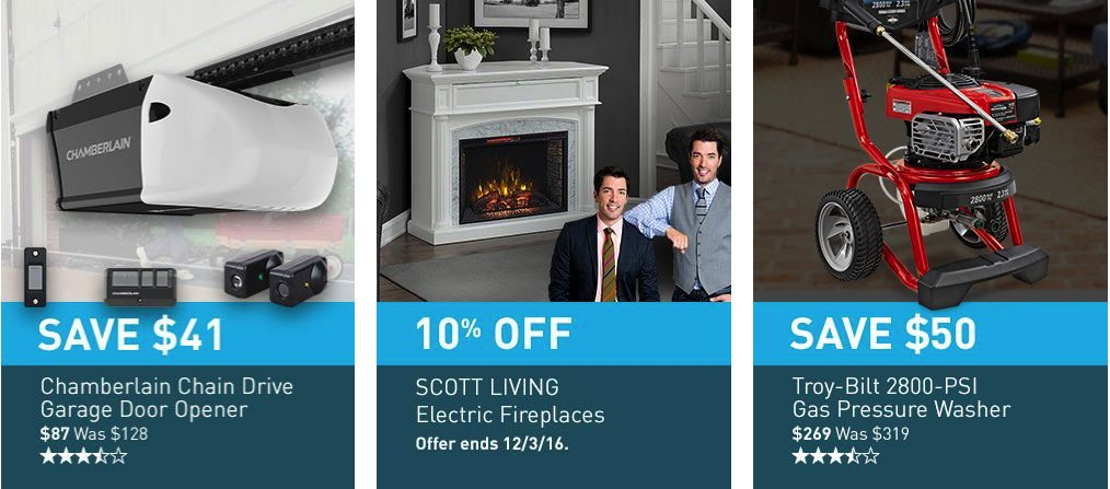 Lowe's Black Friday 2019 Ad Smart Home, Tools, Appliances, Vacuum