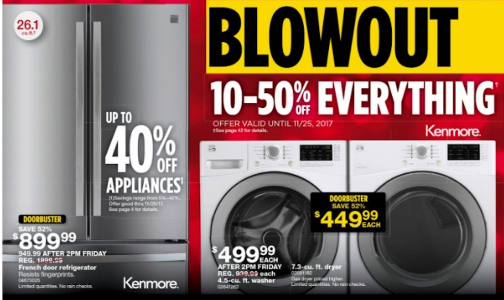Black Friday Appliance Deals 2018 Funtober