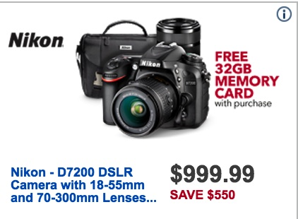 Nikon Black Friday 2019 & Cyber Monday Camera Deals on the