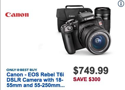 Canon Black Friday 2018 Camera Deals - Funtober