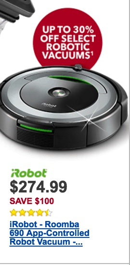 Irobot Roomba Black Friday 2019 Amp Cyber Monday Deals