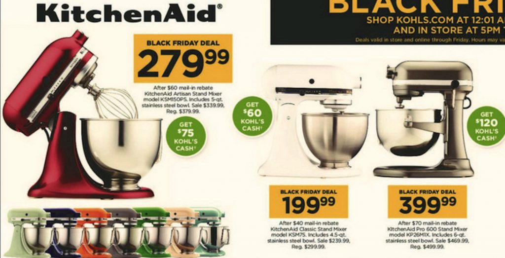 Kitchenaid Mixer Cyber Monday Deals After Black Friday