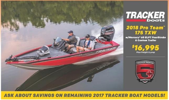 tracker boat deals