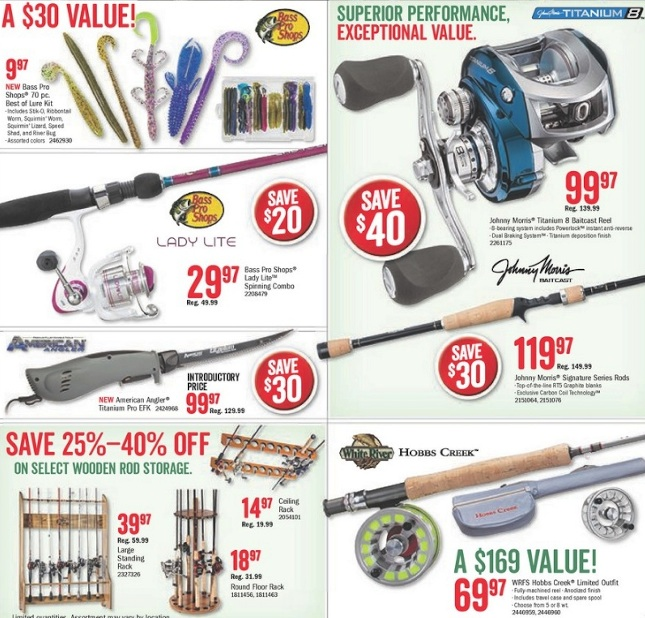 Fishing Black Friday 2019 Deals on Rods, Reels, Tackle