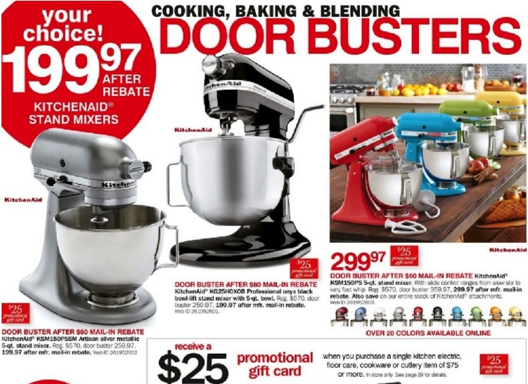 KitchenAid Mixer Black Friday 2019 & Cyber Monday Deals ...