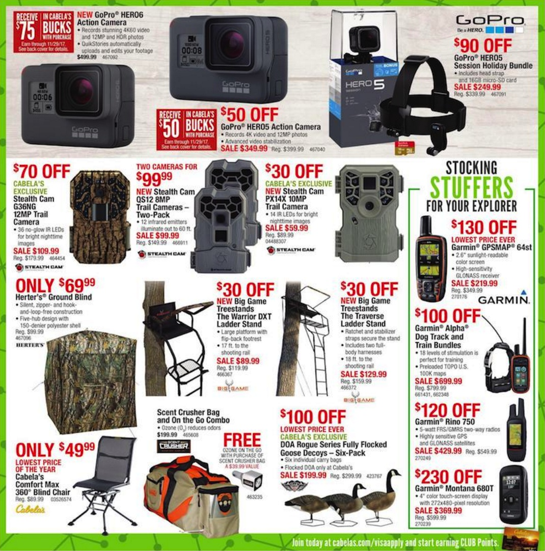 Cabelas Black Friday Ad Deals 2018 Funtober