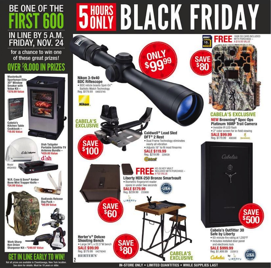 cabelas black friday ad deals 2018 funtober. Black Bedroom Furniture Sets. Home Design Ideas