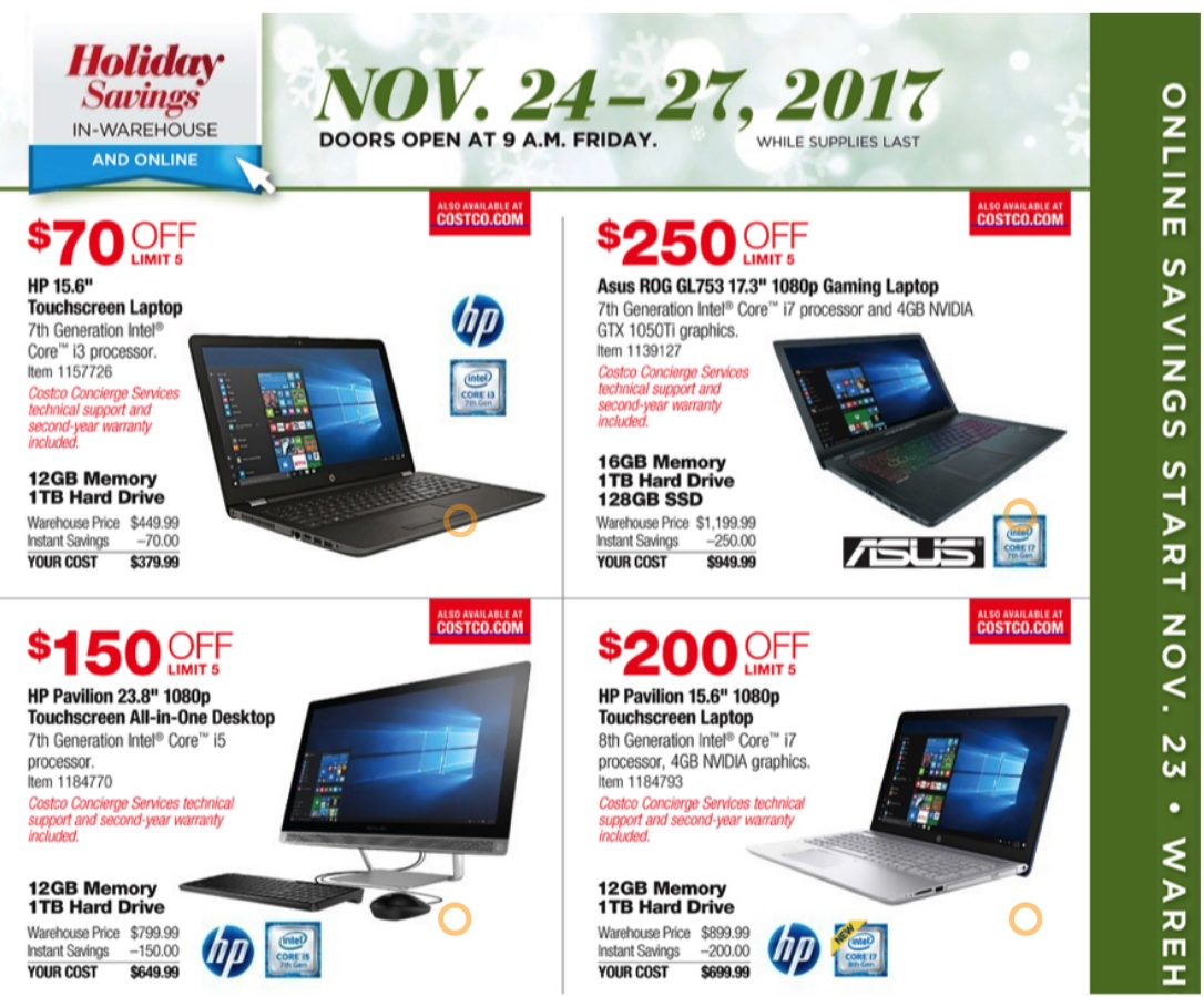 a147daeb4b Costco Black Friday Ad 2019   Cyber Monday Deals - Funtober