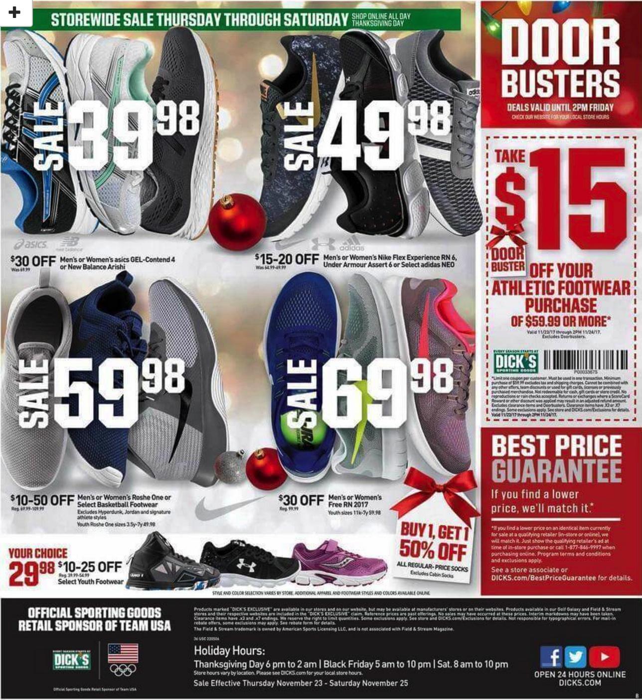 Dick S Sporting Goods Black Friday Ad Deals 2018 Funtober