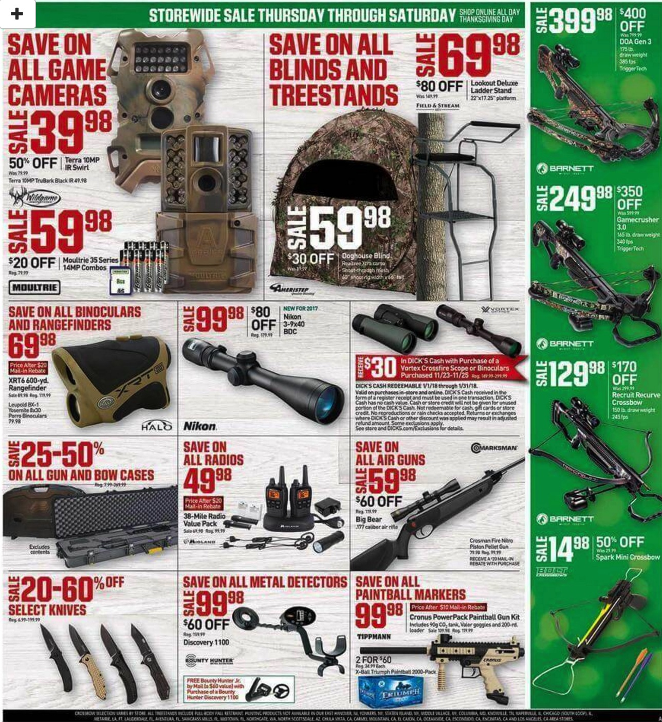 Dick S Sporting Goods Black Friday Ad Deals 2018 Funtober