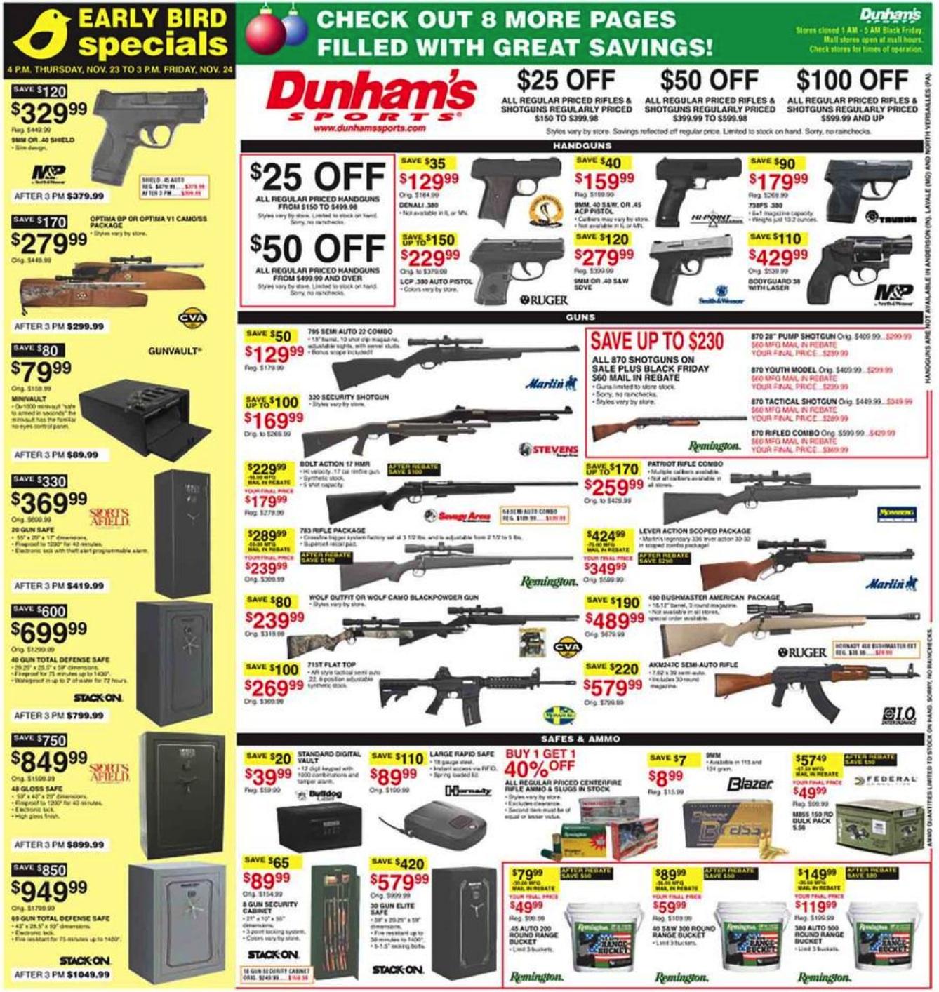 Dunham S Sports Black Friday 2019 Ad Deals Funtober