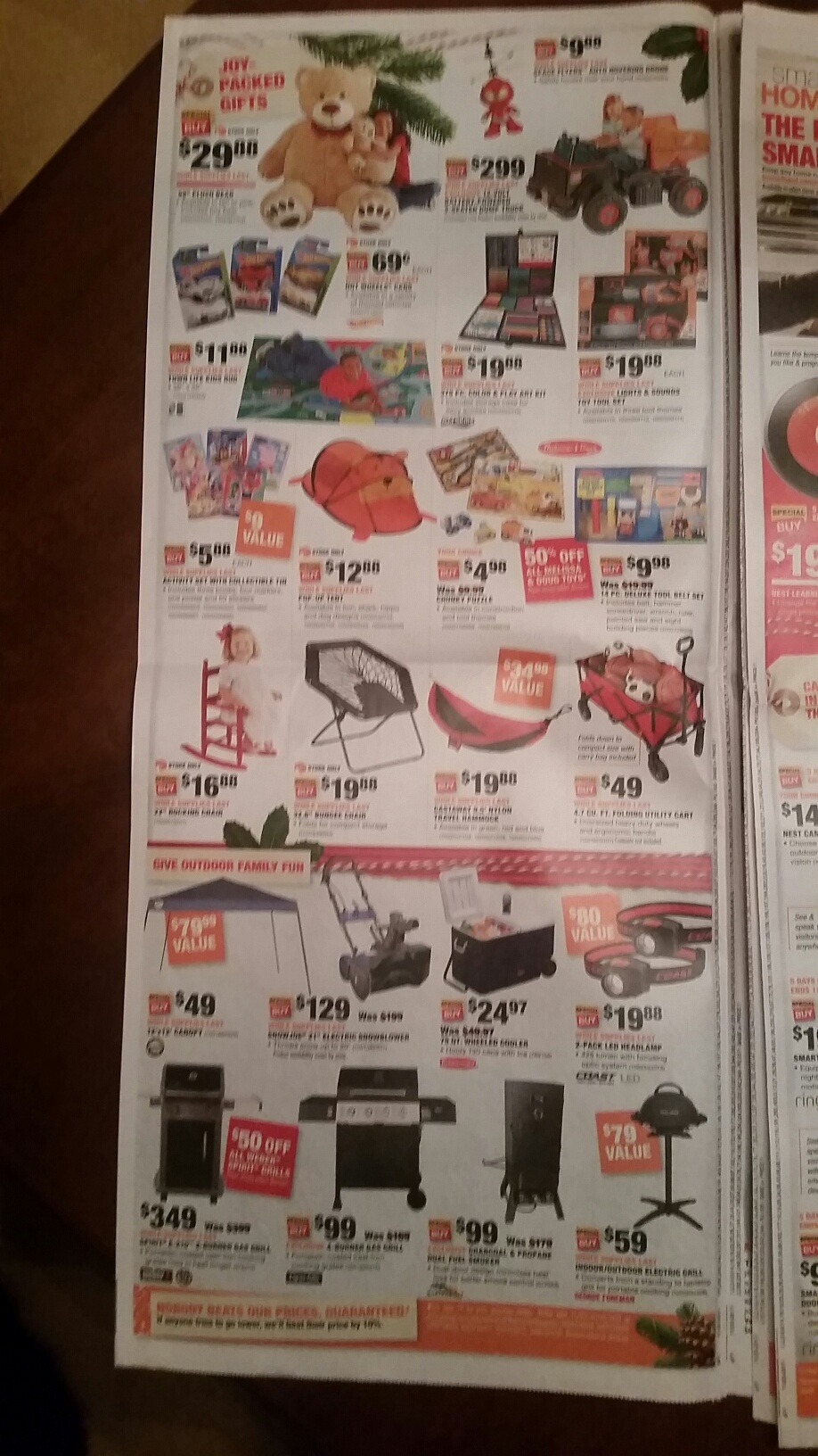 f496096c2e2 Here is the Home Depot s Black Friday ad for 2017  Cyber Monday Deals