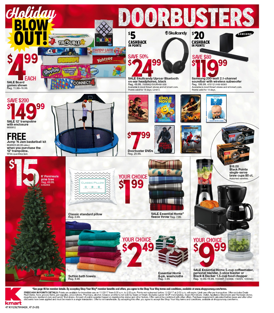 Kmart Black Friday 2018 - Funtober